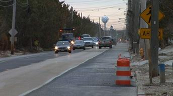 Route 35 Reopens Through Mantoloking After Hurricane Sandy