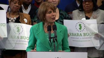 Buono Is Off and Running in Bid to Become Governor