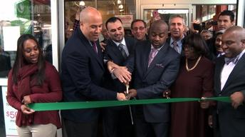 At Grocery Opening, Some Looking at Future Without Booker