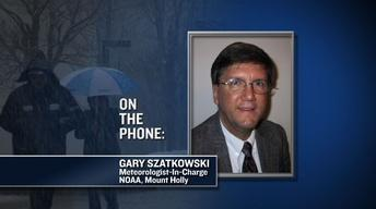 Gary Szatkowski Discusses Coming Winter Storm