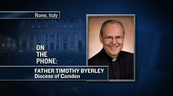 Camden Priest in Rome Recalls Moment When New Pope Announced