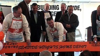 Home Depot Satellite Store to Serve as Center for Recovery