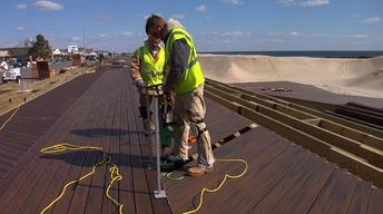 Belmar's Boardwalk Getting Reconstructed After Sandy Damage