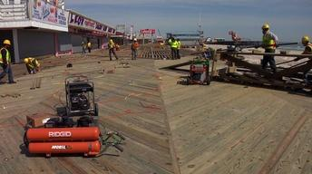 Seaside Heights Preparing for Summer Season After Sandy