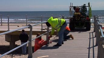 Spring Lake's Boardwalk Expected to Be Rebuilt by End of May
