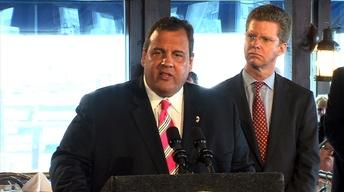 Christie and HUD Secretary Mark 6-Month Sandy Anniversary