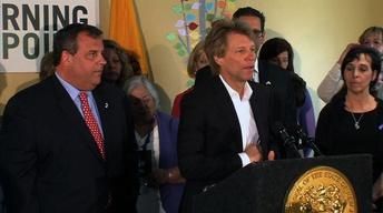 May 2, 2013: Bon Jovi, Buono, LG, Mantoloking Demo