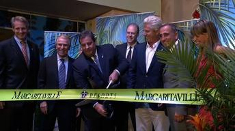 May 23, 2013: Christie, Margaritaville, Jersey Shore, Kean