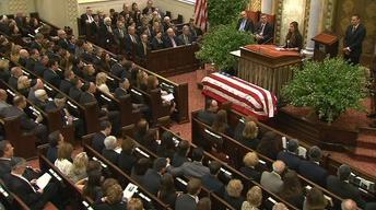June 5, 2013: Lautenberg funeral, Senate candidates