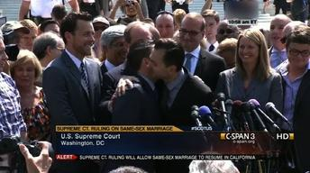 June 26, 2013: DOMA, Gay Marriage, Student Loan Rates, FEMA