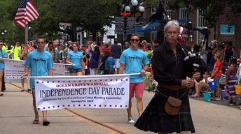 Ocean Grove Celebrates Independence Day with 44th Parade