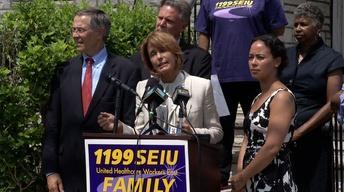 July 26, 2013: Buono, Milly Silva, Senate Race, PSE&G Plan
