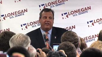 Christie Endorses Lonegan for U.S. Senate