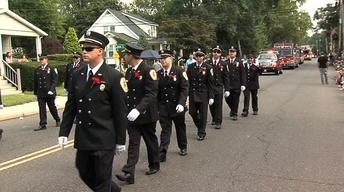 Christie, Buono Participate in Labor Day Parade