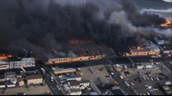 Sept. 12, 2013: Massive Seaside Boardwalk Fire