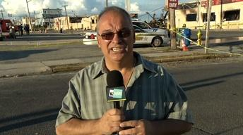 Seaside Heights Mayor Bill Akers Discusses Massive Fire