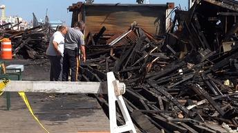 Seaside Park Official Blames Sandy for Boardwalk Fire