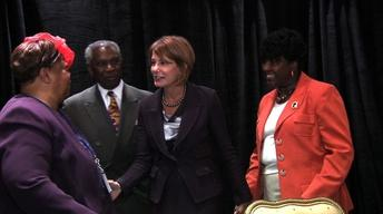 Buono Takes Her Message to NJ Black Issues Convention