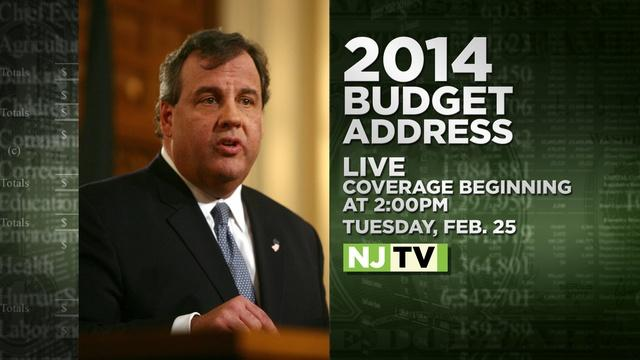 NJTV Special Report: State Budget Address