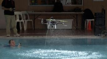 Rutgers Creates First Drone Suited for Air and Water