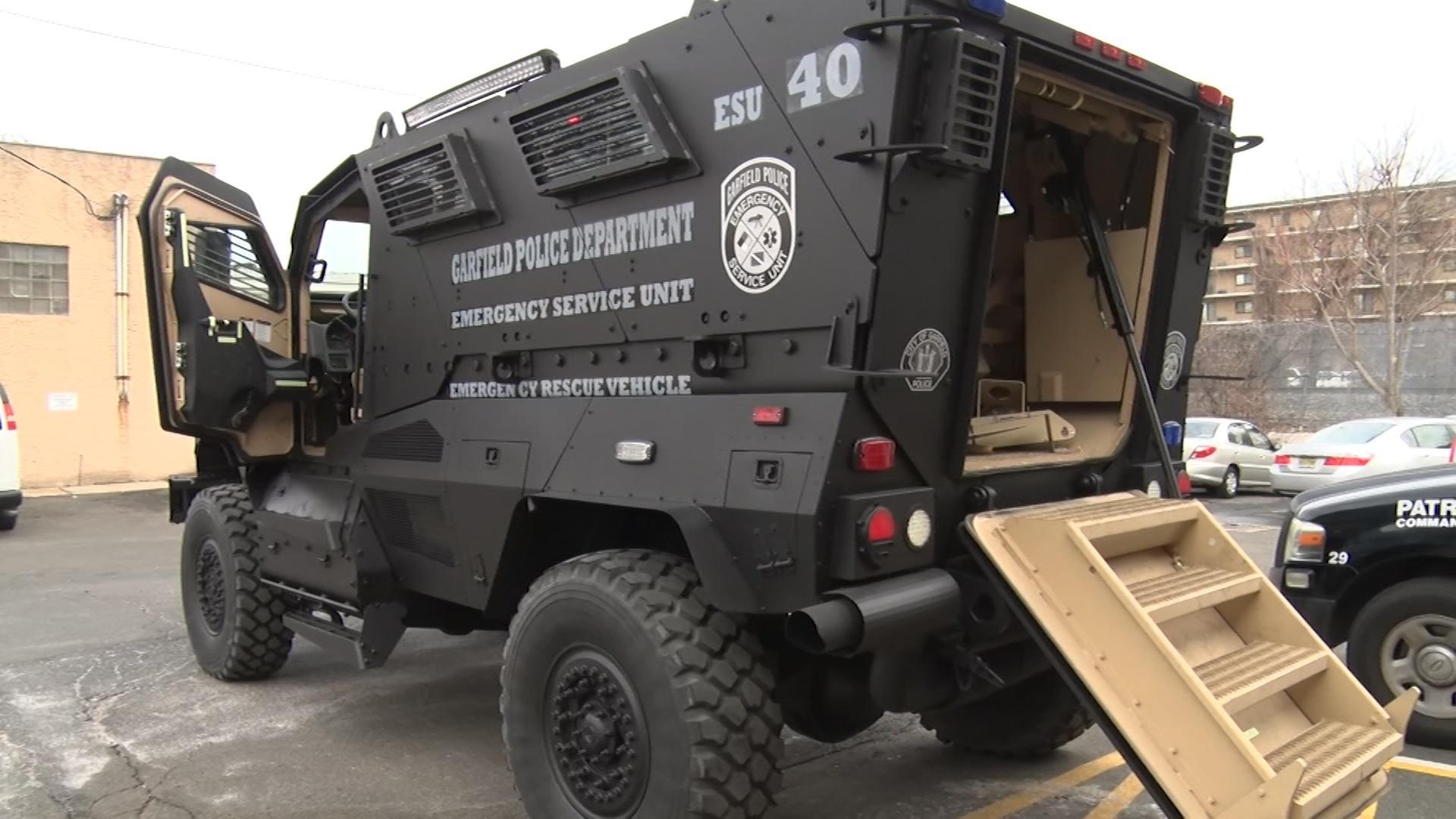 How Nj Police Are Using Surplus Military Equipment Video Nj Spotlight News
