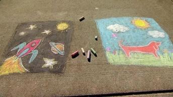 Creating a Chalk Mural