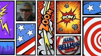Comic Book Artist Allen Bellman