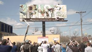 Weinland Park Billboard, Little Free Libraries
