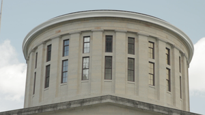 Statehouse Cupola, theater is a blank page, Alfred Tibor