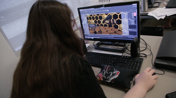 To Bee or Not to Bee: Girls in Digital Animation