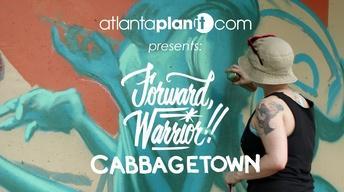 Atlanta Public Art: Forward Warrior