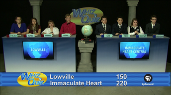 Lowville vs. Immaculate Heart Central Quarter Finals 2016