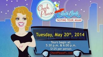 Check, Please! Tasting Tour Promo - May 2014