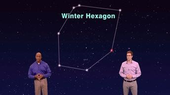 """The Winter Hexagon Plus Jupiter"" 1 min version"