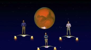 """The Martian Opposition Of 2014"""" 1 Min version"""