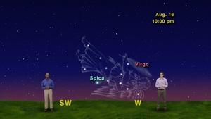 """""""From Virgo To Scorpius, The Moon Sure Gets Around"""" 5 Min ve"""