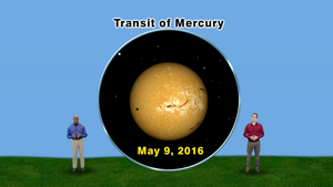 """The Transit of Mercury"" May 2-8th 5 Min"