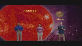 """""""Ares Meets Antares and Hold Your Pinkie Over The Moon"""" 5 mi"""
