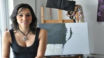 Krizia G, emerging Miami artist
