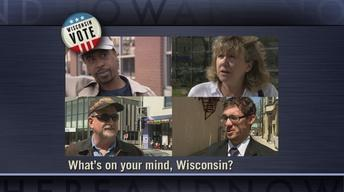 "Wisconsin citizens answer, ""What's on your mind?"""