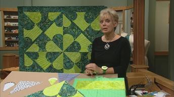 Quilt with Carefree Curves,  Part 2