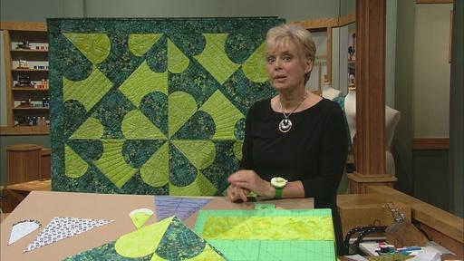 Quilt with Carefree Curves,  Part 2 Video Thumbnail