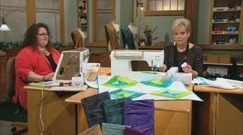 Stress-Free Quilting with Machine Embroidery, Part 1