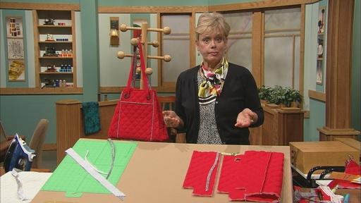 Nancy's Favorite Handbag Sewing Techniques Part Two Video Thumbnail