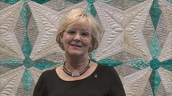 Nancy's Corner -Venetta Morger, Ovarian Cancer Quilt Project