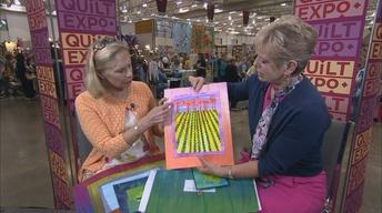Nancy's Corner - Frieda Anderson, Art Quilter
