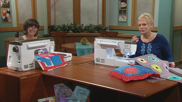 Quilt with an Embroidery Machine in 8 Easy Lessons - Part 2