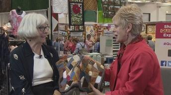 Nancy's Corner - Sandy Schweitzer, Quilt Restoration Expert