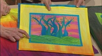 Art Quilts--Fusible Collage Workshop, Part 2