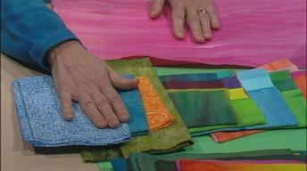 Art Quilts--Fusible Collage Workshop, Part 1